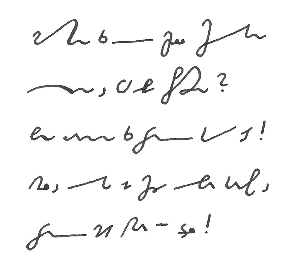 stenografie lernen kostenlos